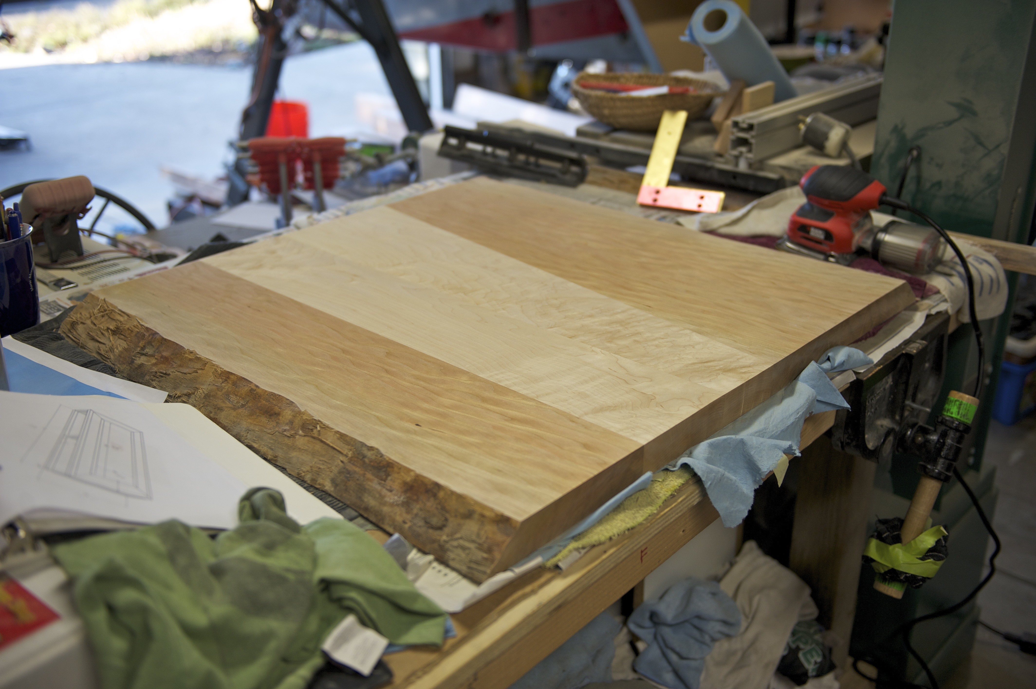 Picture of Sanding + Finishing