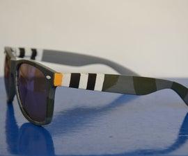 Making Custom Spitfire / Raf Sunglasses