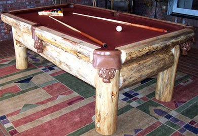 My Kind of Ideal Pool Table and Rack for Belt Pool.