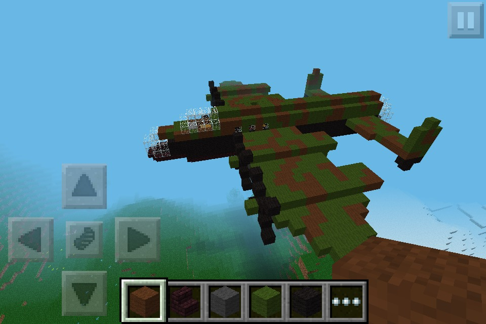 Picture of 70th Anniversary Dam Buster Minecraft!