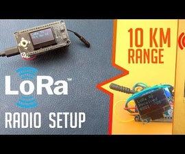 LoRa ESP32 Radios Easy Getting Started Tutorial | No Wiring