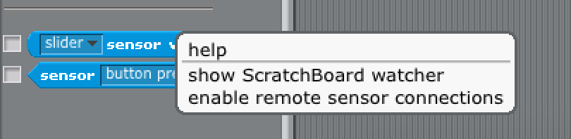 Setup Scratch_OSC_Bridge and Enable Remote Sensor Connections