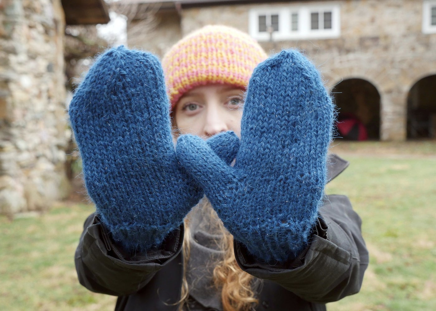 First Mittens: Cuff and Hand