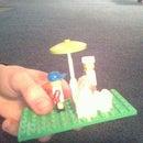 Lego Popcorn Stand