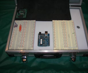 Portable Arduino Project Valise