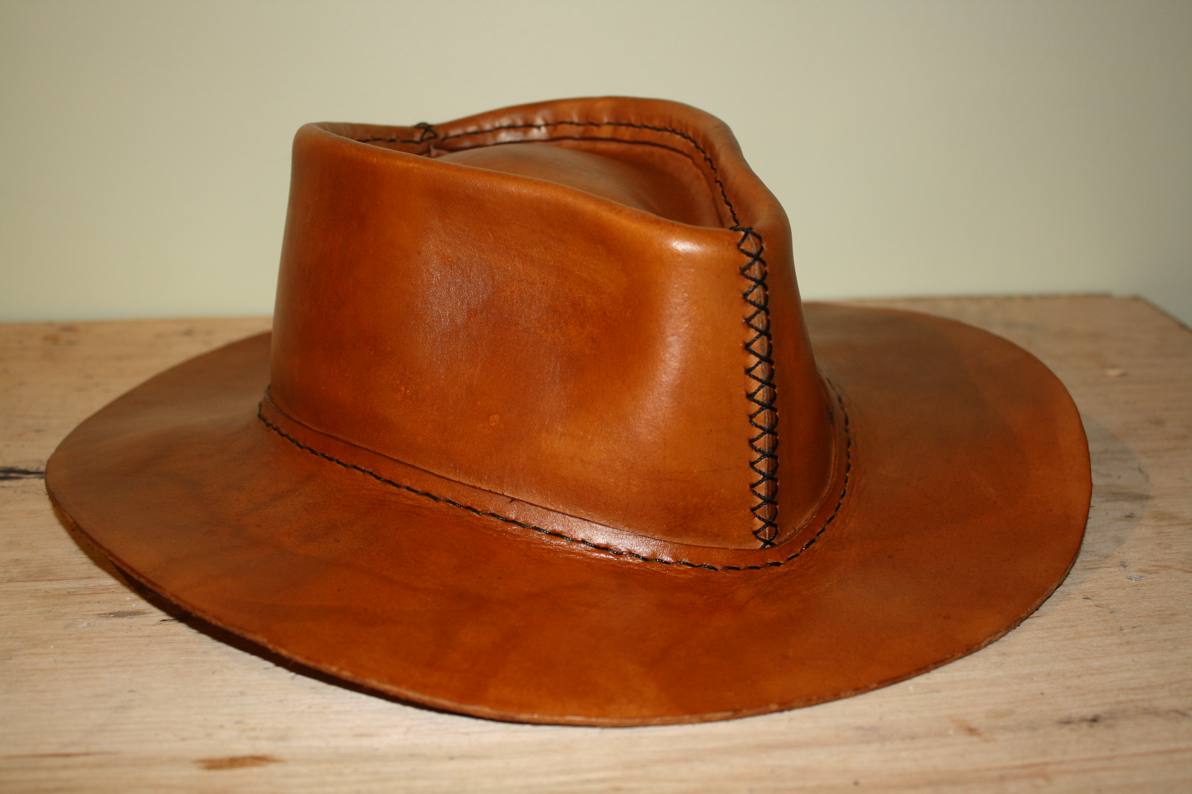 Picture of How to Make a Leather Hat