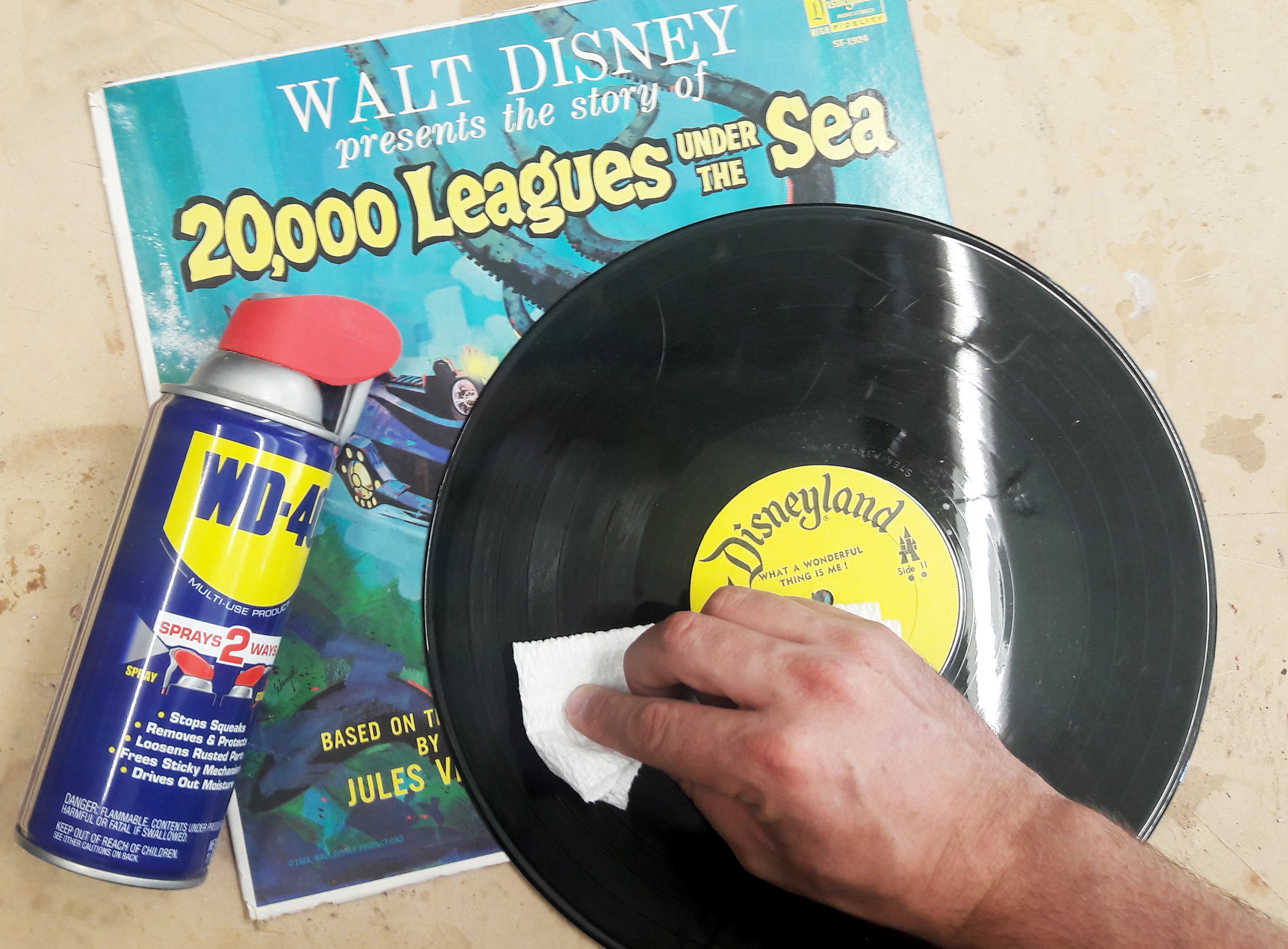 Picture of Lubricate Vinyl Records