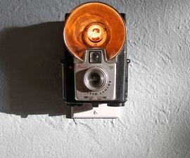 Vintage Camera Nightlight