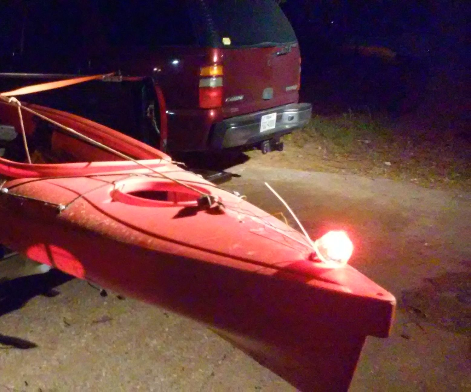Kayak LED Light: 8 Steps on