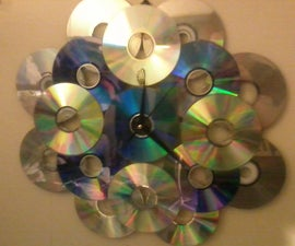 Make Your Own CD Wall Clock