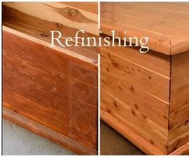 Refinishing Old Furniture