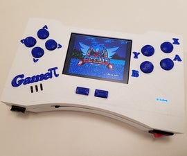 The Gameπ - Handheld Retro Gaming Console - Complete Guide from Concept to Final Product