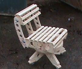 Woodpunk Chair