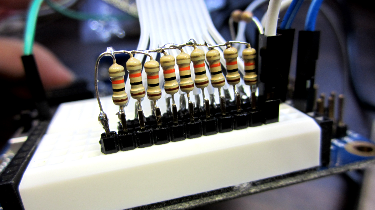 Picture of Create the Resistor Network