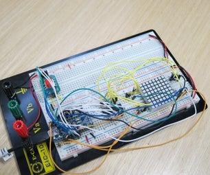 Arduino 8x8 Matrix LED Game