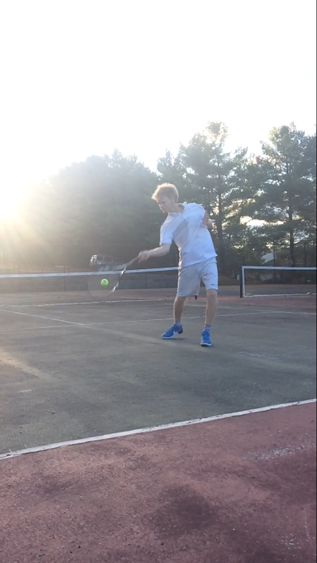 Picture of How to Hit a Topspin Forehand