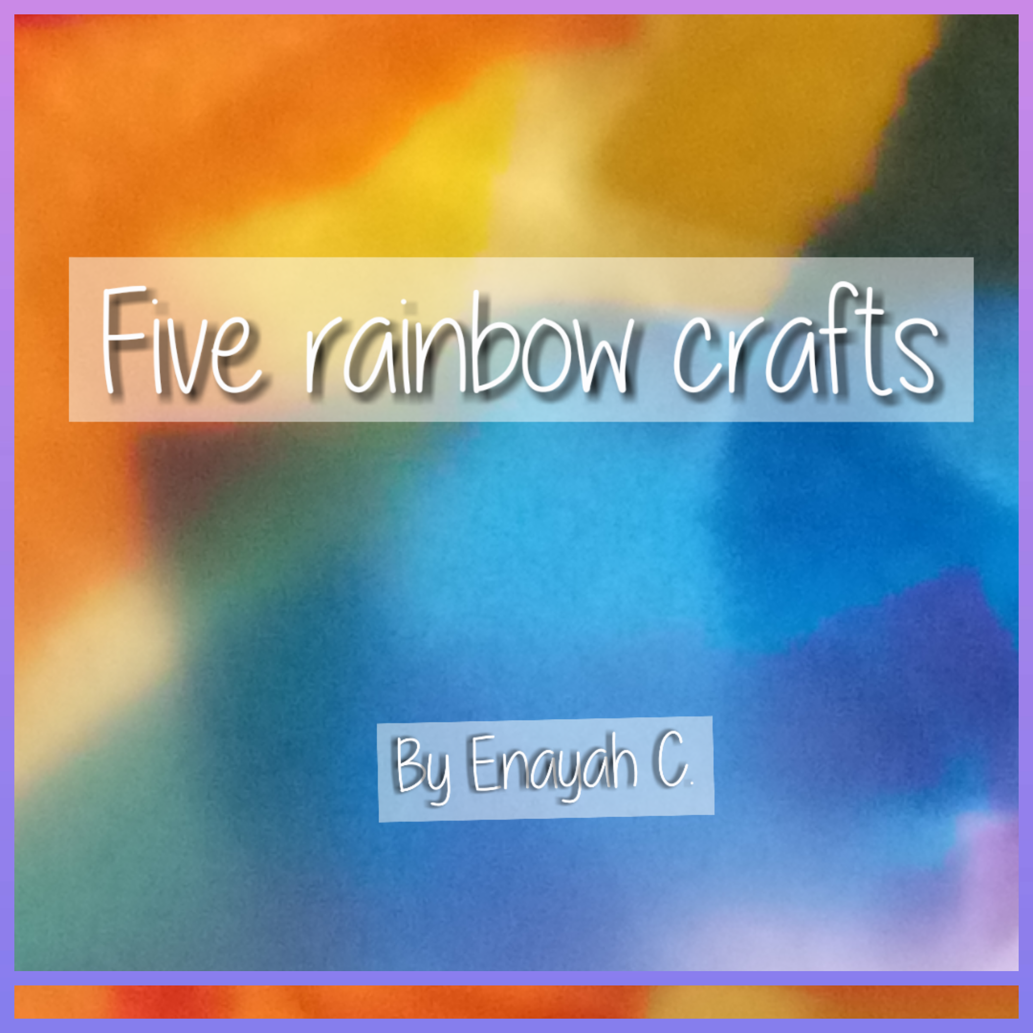 Picture of Five Rainbow Crafts