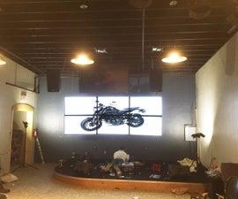 6 Screen TV Wall