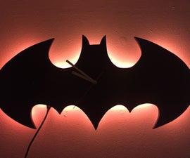 Batman LED Nightlight & Clock (Arduino)