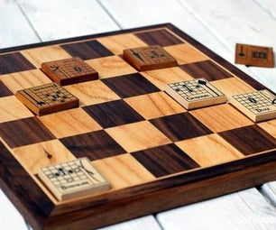 DIY Wooden Game Board