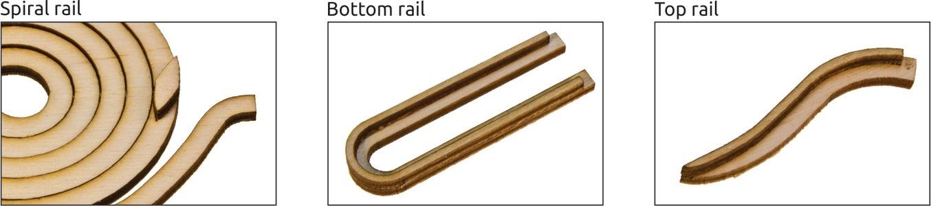 Gluing the Rails