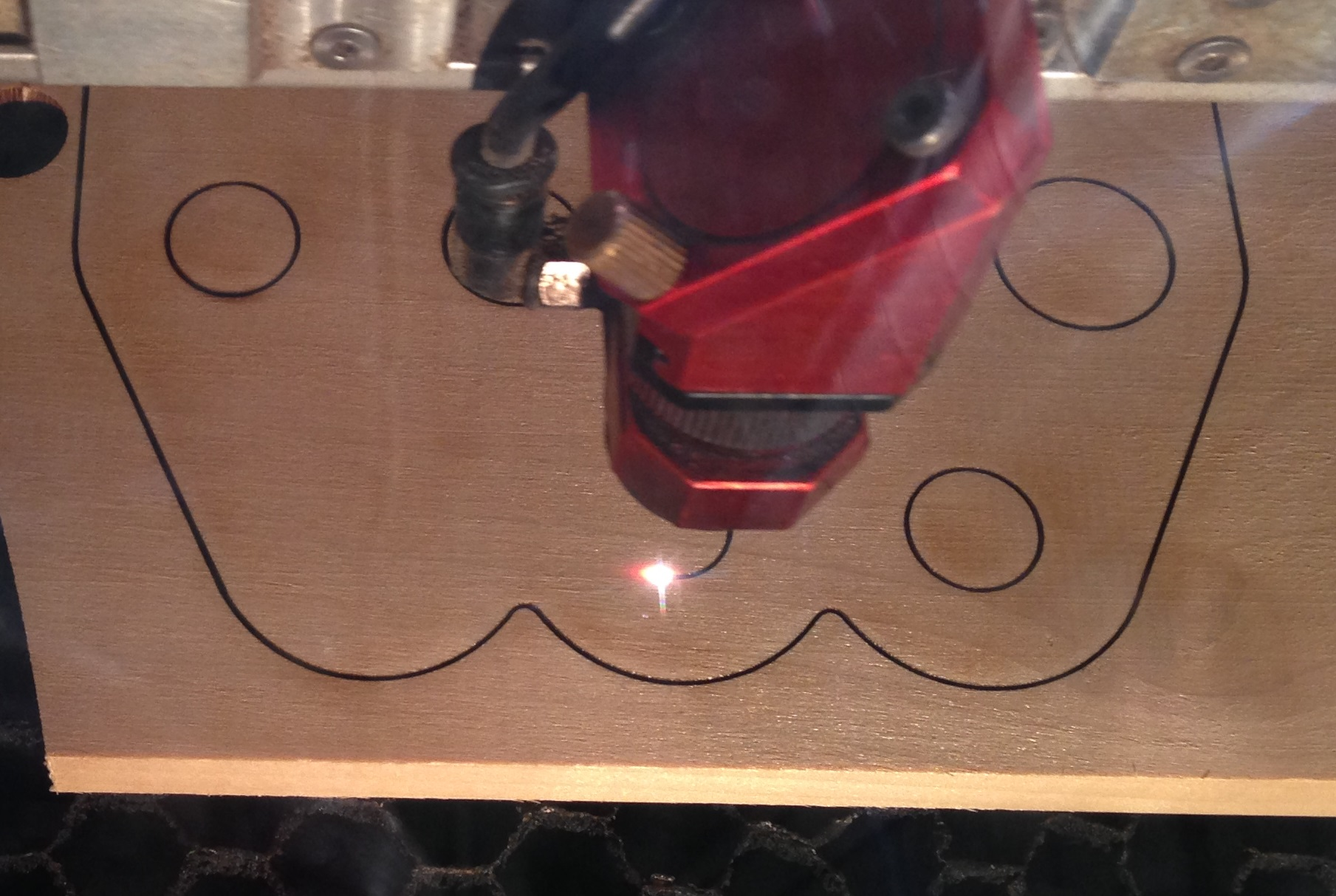 Picture of Laser Cut All the Pieces