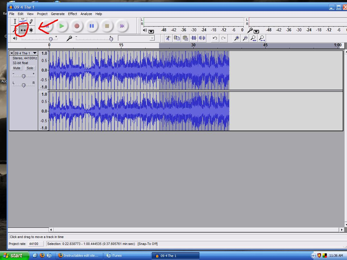 Picture of Exporting As WAV