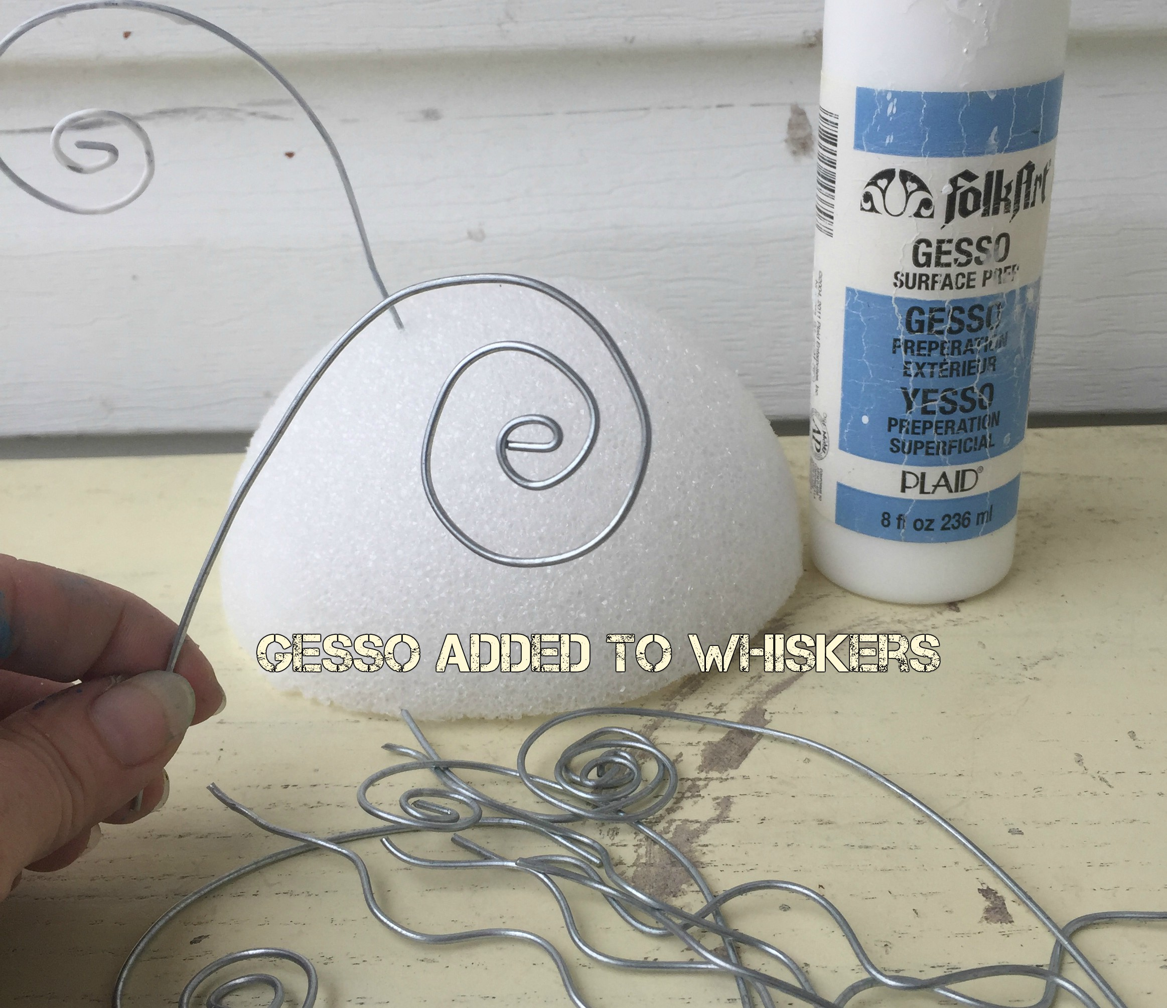 Picture of Gesso and Sanding