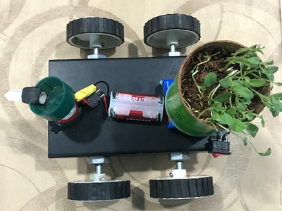 Making the Automatic Seed Dispenser