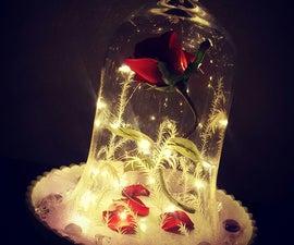 DIY Enchanted Rose