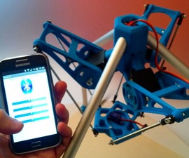 Android APP to Control a 3DPrinted Robot