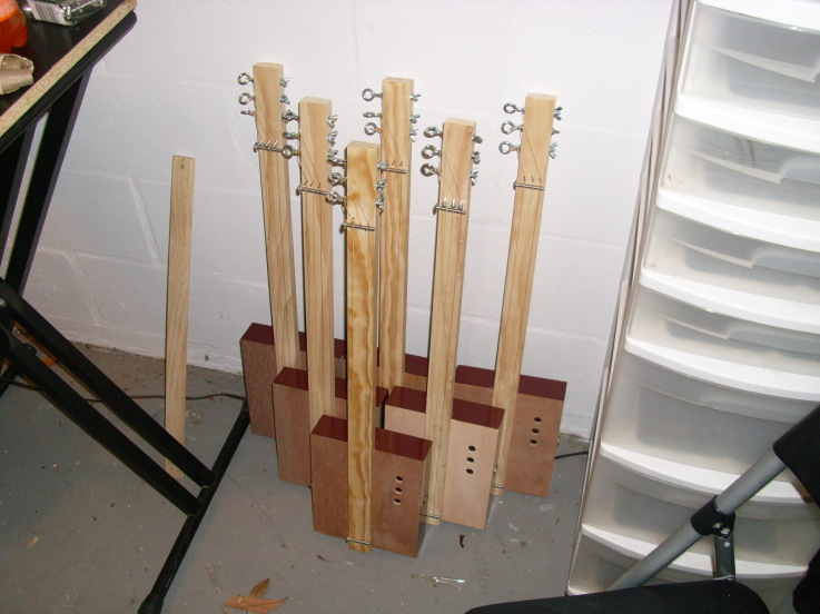 Picture of Cigar Box Guitar in One Hour, the Uncle Crow Way!