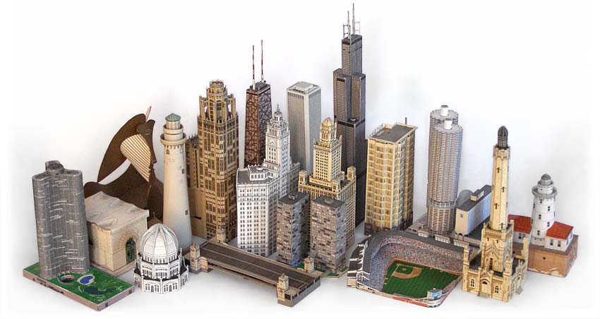 Picture of How to Make a Little City for a Movie.