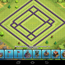 Clash of Clans-Th9 Farming Base