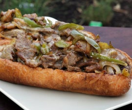 How to Cook a Philly Cheese Steak Sandwich
