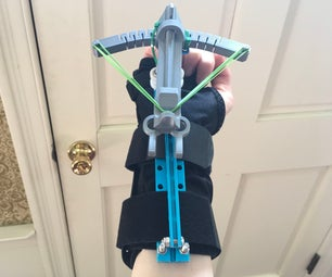 How to Make a Crossbow Gauntlet