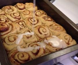 Sizzling cinnamon rolls