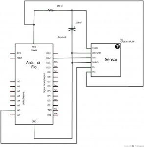 Picture of 空气质量传感器 Optical Dust Sensor