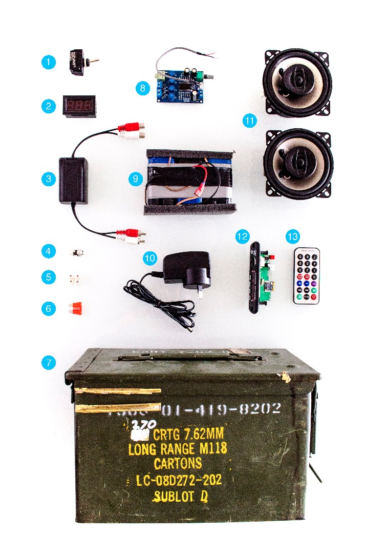 Picture of Kit Components: