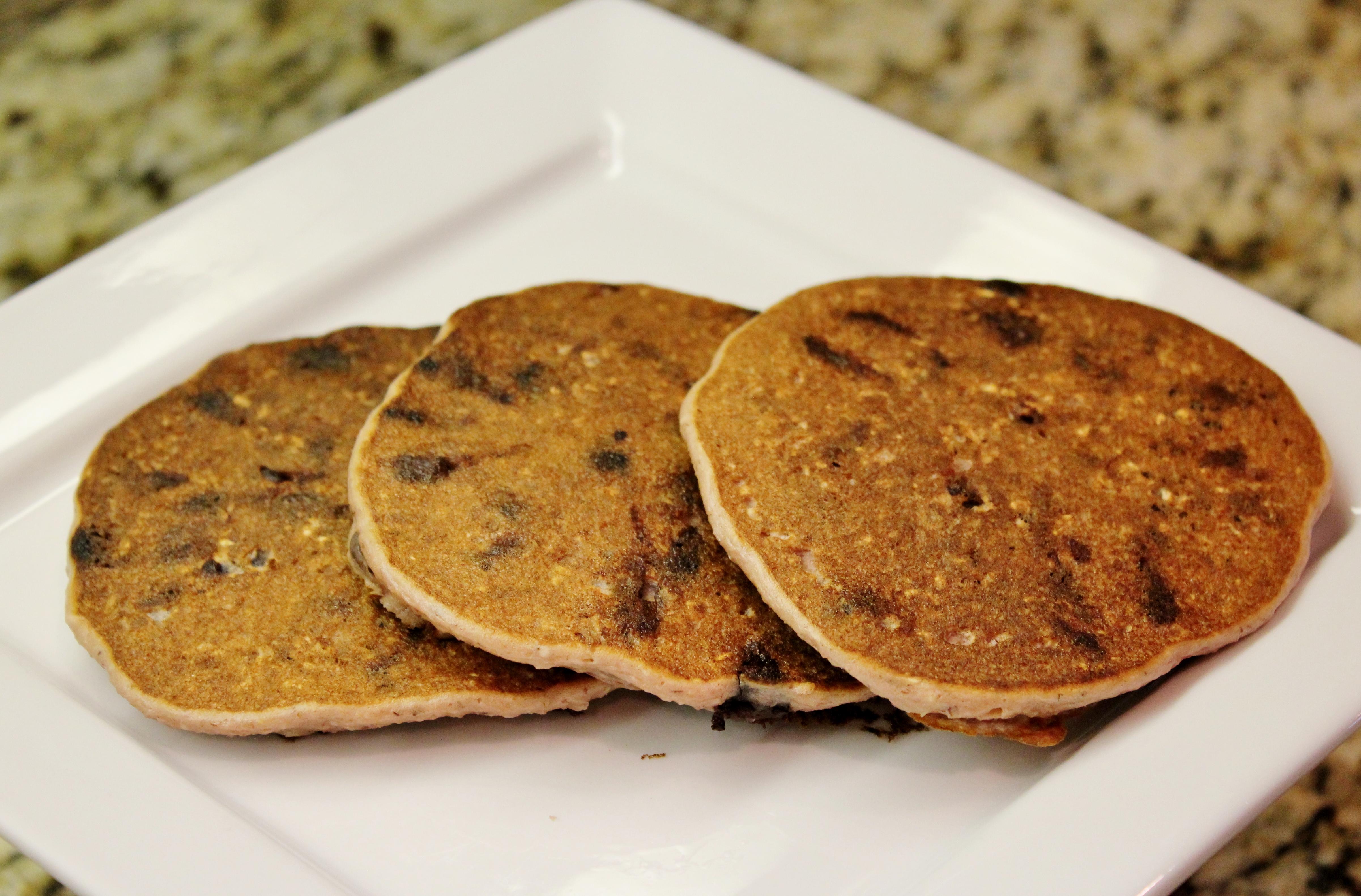 Picture of Dark Chocolate Raspberry Pancakes (gluten Free)