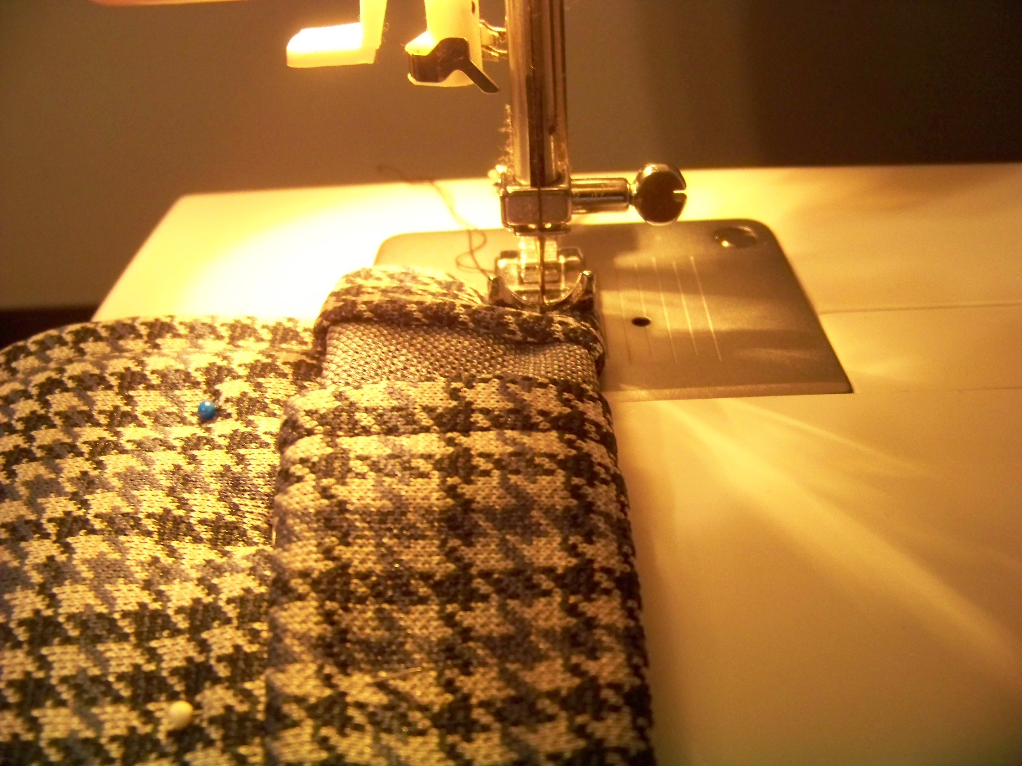 Picture of Fold, Press, and Sew the Sides
