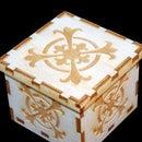 Small Laser Cut Wooden Box (2.5x2.5)