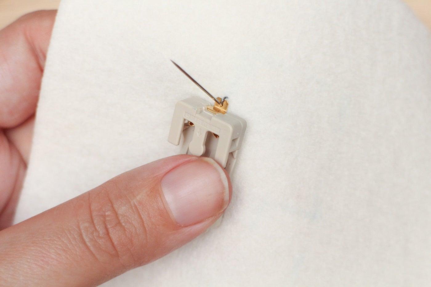 Sew Down Battery Holder