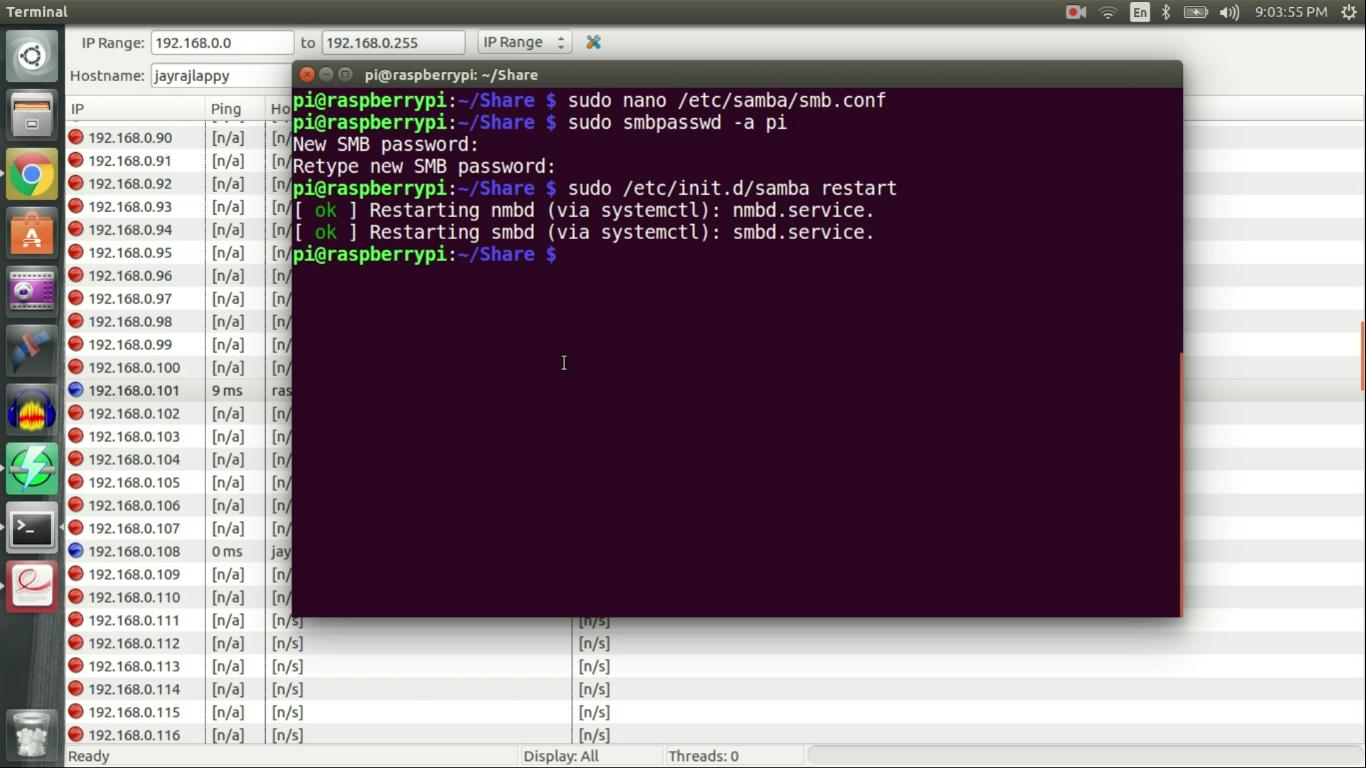 Picture of Configure SAMBA