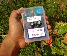 How to Make Time Lapse Timer Remote for Mobile Phone Camera| DIY Intervalometer