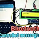 Bluetooth Controlled Messenger LCD || 16x2 LCD || Hc05 || Simple || Wireless Notice Board