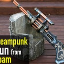 Making a Big Ol' Steampunk Gun From Foam
