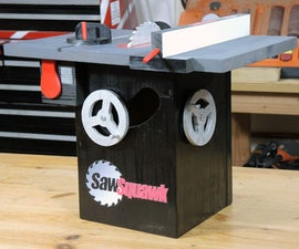 SawSquawk Birdhouse (Inspired by SawStop)