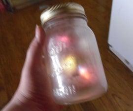 Fire Flys In A Jar