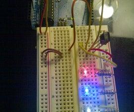 Arduino IR sensor and LEDs